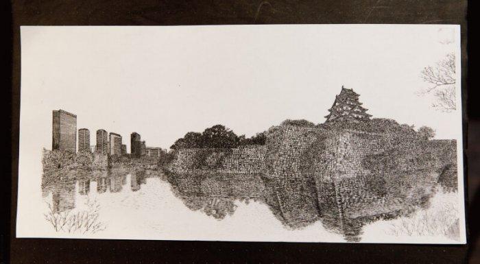 大阪城のアート作品